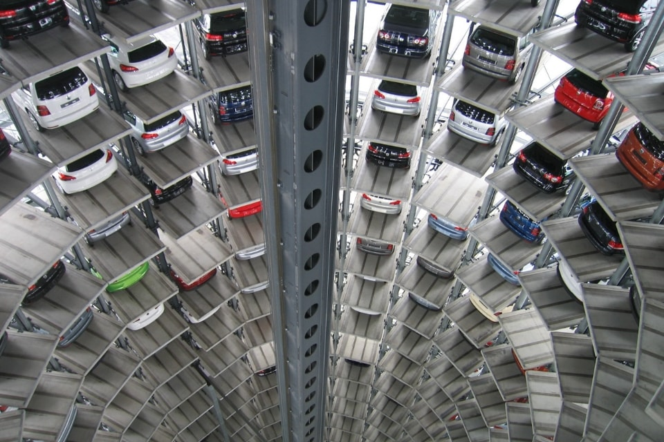 hich technological car park